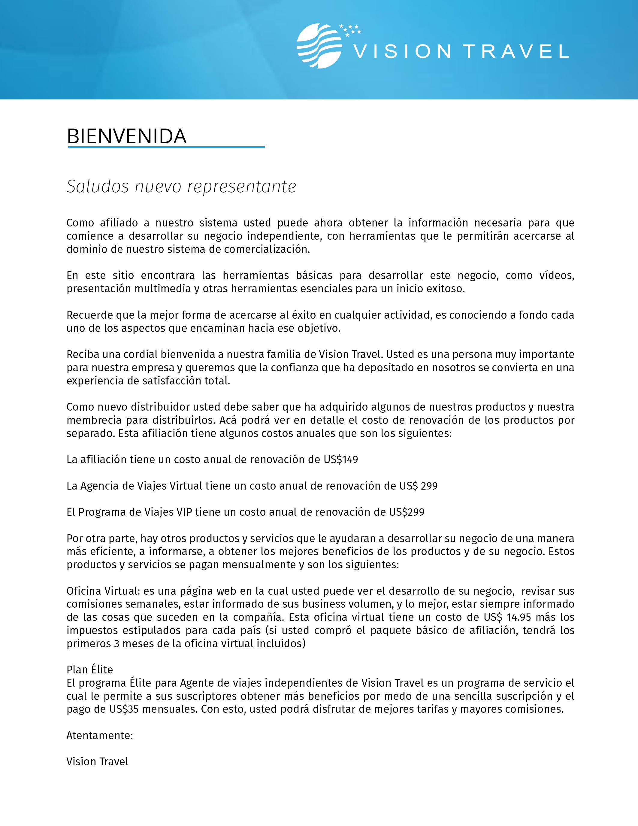 Carta De Bienvenida De La Membresía De La Iglesia Creatogrimarml
